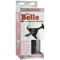 Harness and dildo set - The belle with supreme harness - view #3