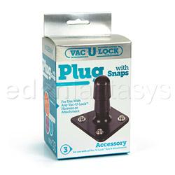 Plug - Vac-u-lock plug with snaps - view #4