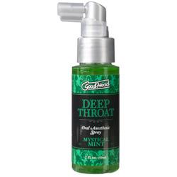 Good head deep throat spray - stimulating gel
