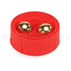 Ben wa gold balls - sex toy for women