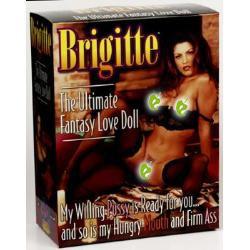 Brigitte doll (brown hair) - female love doll