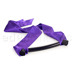 Black rose forbidden flower mouth bit - mouth gag