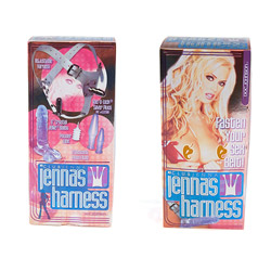 Correas de cordón-G - Jenna see through vac-u-lock harness - view #6