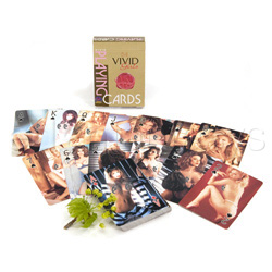 Vivid girls playing cards - Adult game