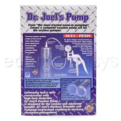 Penis pump - Dr Joel's penis pump - view #3