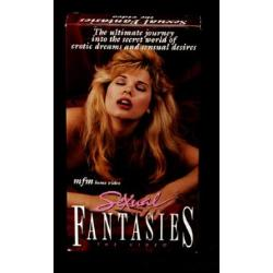 Sexual fantasies, video & book set, vhs - Book