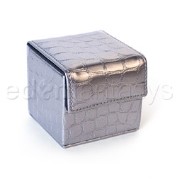 Condom cube croco - storage container