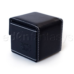 Storage container - Black condom cube - view #4