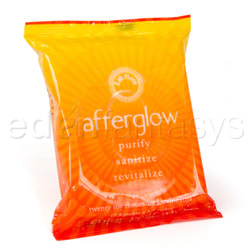 AfterGlow toy and body wipes
