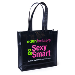 Edenfantasys tote bag - sex toy storage
