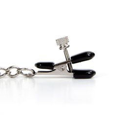 Alligator clamps - Wide tips nipple clamp set - view #2