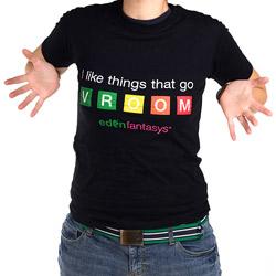 EdenFantasys t-shirt - gags