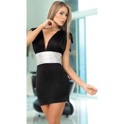 Black dress - mini dress