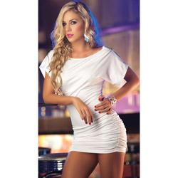 Billow top dress - mini dress