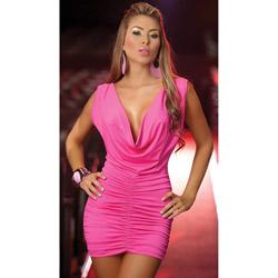 Open back dress - mini dress