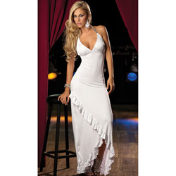 White long gown - maxi dress