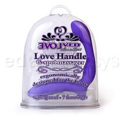 G-spot rabbit vibrator - Love handle - view #4