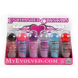 Enchanted crystals, display - DVD