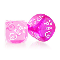 Love dice - sex toy for couples