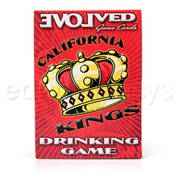 Adult game - California kings drinking game cards - view #2