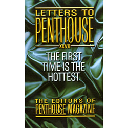 Letters to Penthouse: The First Time is the Hottest - book