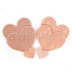 Crème heart pasties - pasties set