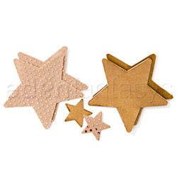 Superstar gold pasties - pasties set