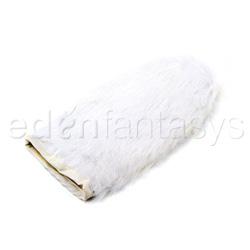 Massage mitt - Rabbit fur mitt - view #1