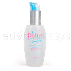 Pink Water - lubricant