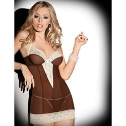 Sweet brown sugar chemise