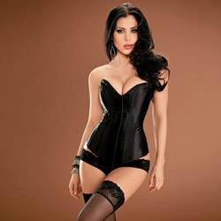 Black Tesa`s sweetheart corset