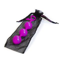 Vaginal exerciser - Eden play silicone triple balls - view #5