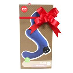 Gift wrap - Red satin ribbon - view #1