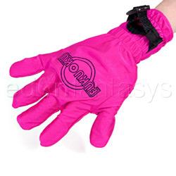 Fukuoku five finger massage glove - vibrator