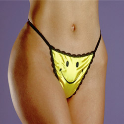 Happy face g-string - sexy panties