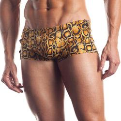Leo shorts with strap detail - briefs