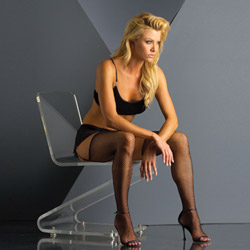 Fishnet stocking black - hosiery