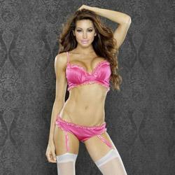 Boudoir princess bra and panty - bra and panty set