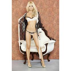 Nude affair lingerie set - bra and panty set