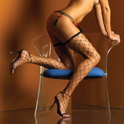 Diamond stay up thigh high stockings - thigh highs