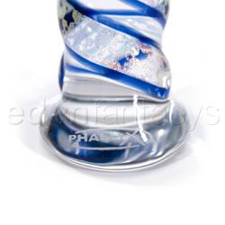 Glass G-spot shaft - Starlight dichroic wrapped G-spot - view #4