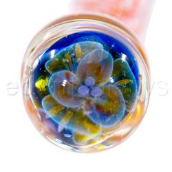 Glass G-spot shaft - Scribble swirl G-spot wonder - view #4