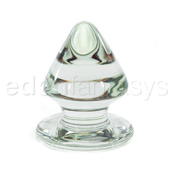 Glass butt plug - Plug de vidrio