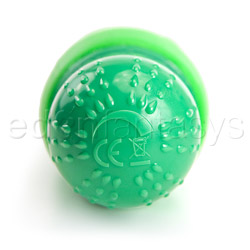 Traditional vibrator - Green dolphin - view #3