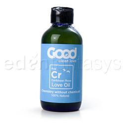 Good clean love - oil based lube