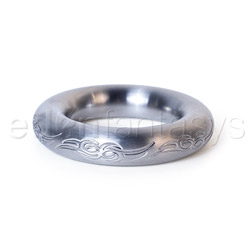 Omega engraved - cock ring