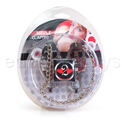 Nipple clamps - Jaws with chain - view #4