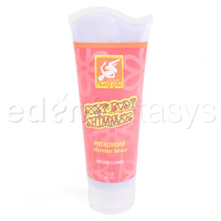 Crazy girl body shimmer