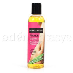 Aromatherapy massage oil