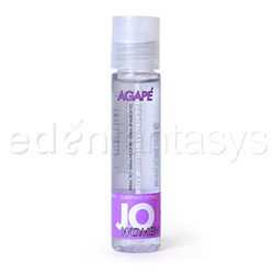 JO agape personal lubricant - water based lube